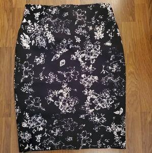 Philosophy Black Pencil Skirt